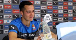 """Lucas: """"Queremos ganar y si ayudamos al Madrid, mejor"""""""