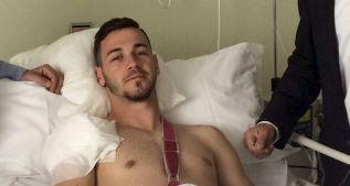 Álvaro Vázquez, operado del hombro; tres meses de baja