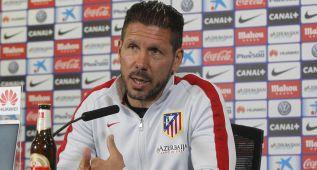 """Simeone: """"Volvería a repetir el planteamiento del Bernabéu"""""""