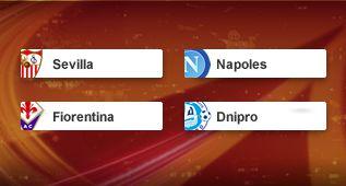 Sorteo Europa League: Dnipro, Nápoles y Fiorentina, los rivales