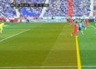 Messi marcó el 0-2 tras claro fuera de juego de Luis Suárez
