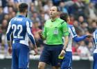 Mateu Lahoz se disculpó con el Espanyol por conceder el 0-2