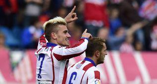 Atlético-Elche (3-0): Griezmann dejó mal al Cholo Simeone