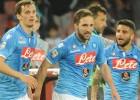 El Nápoles se mantiene firme en su lucha por la Champions