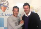 Juanjo Ciércoles renueva con el Sabadell hasta 2017