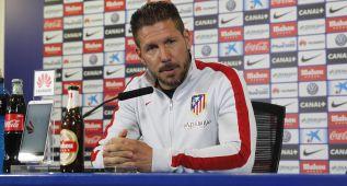 """Simeone: """"De los 200 me quedo con el partido del Camp Nou"""""""