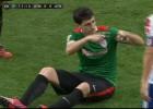 Iraola se fue lesionado: podría peligrar la final de Copa
