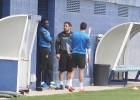 Caicedo, Sergio García y Arbilla se entrenaron en solitario