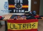 Detenidos ultras del Murcia y del Ciudad por intento de pelea