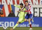 El Atlético encaja menos con Giménez que con Miranda