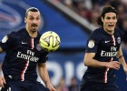 El PSG sigue imparable: set al Guingamp y hat-trick de Cavani