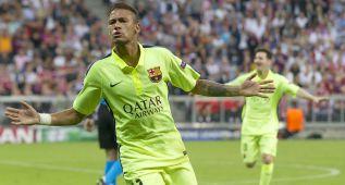 Neymar abre la puerta de Berlín