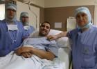 Sergio Asenjo, operado con éxito del ligamento cruzado