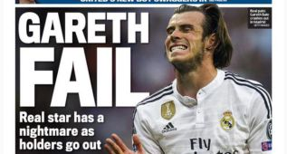 La prensa inglesa bautizó al galés como 'Gareth Fallo'