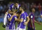 El Valladolid vence y aleja al Barça B de la permanencia