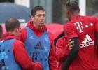 Conato de pelea entre Boateng y Lewandowski en el entreno