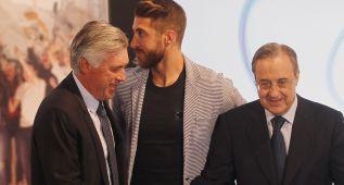 Florentino Pérez-Ancelotti: una imagen que resume una relación