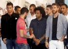 Malestar en la plantilla blanca por la salida de Carlo Ancelotti