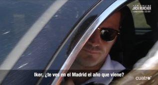 """Casillas: """"Seguiré y claro que me gustaría que viniera De Gea"""""""