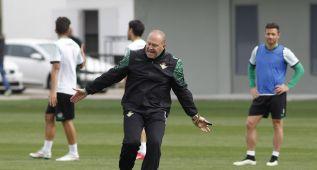 Pacheco y Piccini, novedades en la sesión de entrenamiento