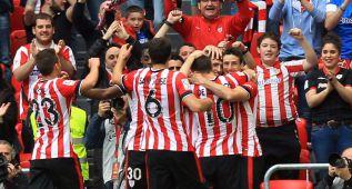 El Athletic golea con la fantasía de Iraola y se mete en Europa
