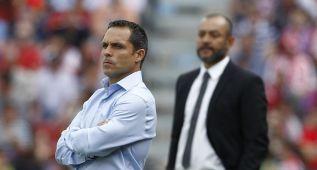 """Sergi: """"El fútbol ha sido muy injusto con el Almería"""""""
