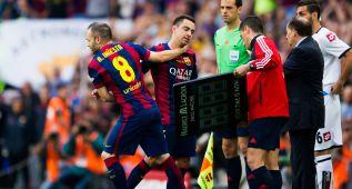 """Iniesta: """"Gracias Xavi, por tantos años de enseñanza"""""""