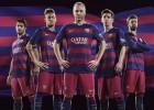 Rayas horizontales en el Barça por primera vez en 116 años