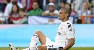 Pepe se someterá mañana a pruebas para conocer su lesión