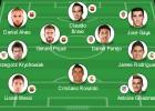 El Barcelona, equipo con más jugadores en el once UEFA