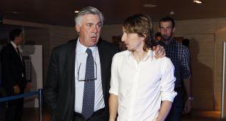 """Modric """"Ancelotti es el técnico ideal para el Real Madrid"""""""