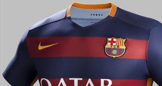 La nueva camiseta del Barcelona no gusta entre sus aficionados
