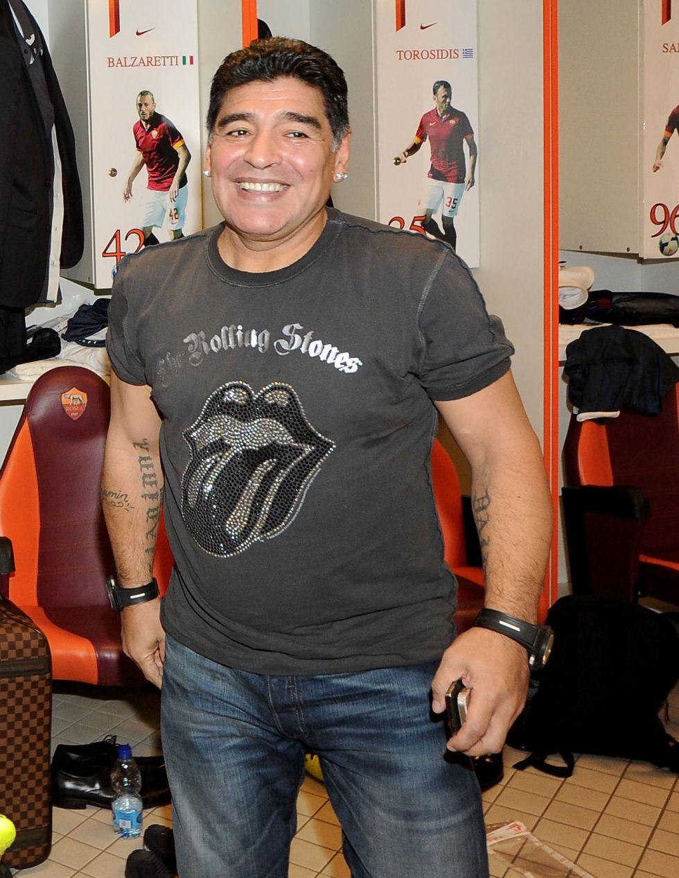 """Maradona: """"Esto lo avisé yo hace tiempo y me trataron de loco"""" - AS.com"""