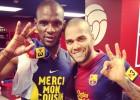 Abidal apuesta por renovar a Alves: