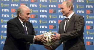 """""""Buscan evitar la reelección de Blatter y el Mundial en Rusia"""""""