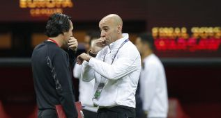 "Monchi, sobre el futuro de Emery: ""¡Ni yo sé si va a seguir!"""