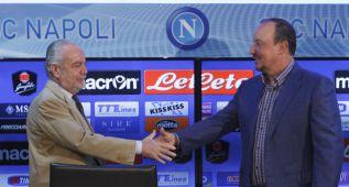 """De Laurentiis: """"Que Florentino le haga un buen contrato a Benítez"""""""