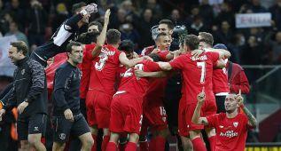 7 de los 18 mejores jugadores de la Europa League son del Sevilla