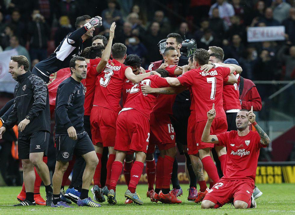 Sevilla 7 de los 18 mejores jugadores de la Europa League son del Sevilla - AS.com