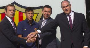 Santos denuncia ante la FIFA al Barcelona y a Neymar