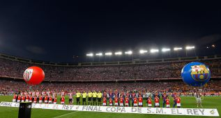 Barcelona, 104; Athletic, 73