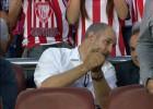 Zubizarreta estuvo en la grada para ver la final de la Copa