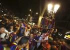 Ocho detenidos por incidentes en la celebración de la Copa