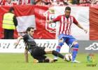 El Sporting gana y sentencia al Sabadell, equipo de Segunda B