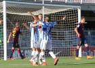 El Leganés sonroja al Barça B, que consuma su descenso