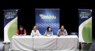 """EH Bildu: """"La polémica por la pitada, interesada y sin sentido"""""""