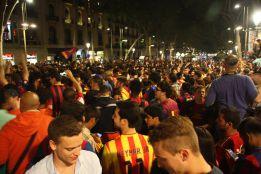 Fiesta en Canaletas y este domingo, Rúa y celebración