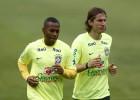 Robinho no jugará ante México y es duda para la Copa América