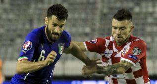 Mandzukic marcó tras fallar un penalti pero Italia pudo igualar