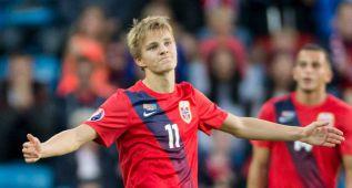 Odegaard jugó los 90 minutos pero no hubo goles en Oslo